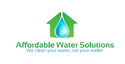 Picture of the logo for Affordable Water Solutions. Water testing and water treatment in Pasco and Pinellas counties.